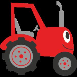 Comic Traktor - ideal für Kinder Shirts