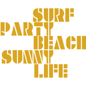 surf beach party sunny life