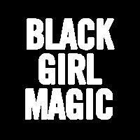 Schwarzes Mädchen Magic 2 Weiß