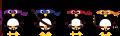 Motif Pingouins Ninjas
