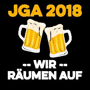 JGA 2018 Wir räumen auf