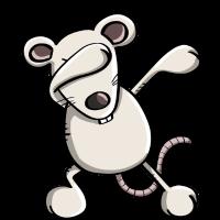 Lustige Dab Dance Maus - Dabbing Ratte - Geschenk