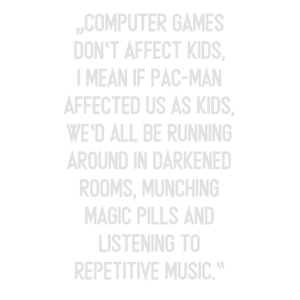 Computer games don't effect kids