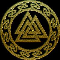 Valknut Vikings Odin Thor Keltische Symbole Pagan