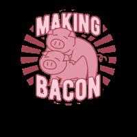Making Bacon - Schinken Schwein - Geschenk