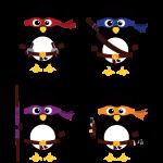 Pinguin Ninjas