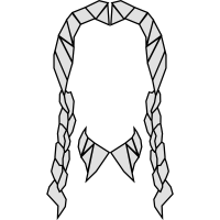 Wednesday Addams Polygone