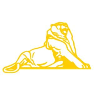 Lion de Belfort doré