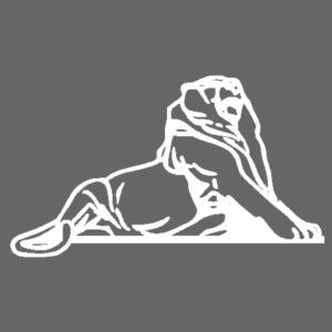 Lion de Belfort blanc