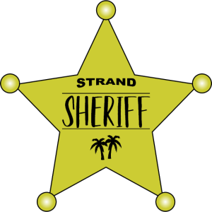 Palmen Sheriffstern Strand Sheriff