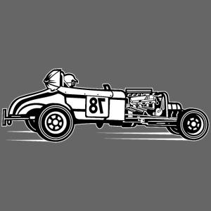 Hot Rod / Rat Rod 01_schwarz weiß