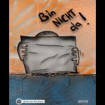 Design - Baby Bin Nicht Da! - mit Lesetipp