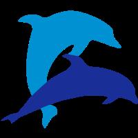 Delfin und Herz