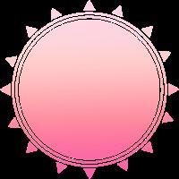 Einfaches schlichtes Pinkes Design/Symbol