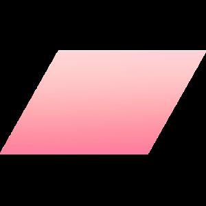 Schlichtes Pinkes einfaches Rechteck Design/Symbol