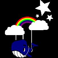 Fliegender Wal