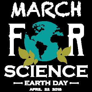 März für Wissenschaft Tag der Erde Shirt