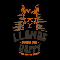 Lama Alpaka Kamel Tier Zoo Natur Lustig Geschenk
