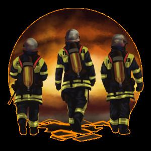 Feuerwehr Kameraden 112 Feuerwehrmann Geschenk