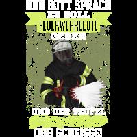 Feuerwehr Feuerwehrmann Got Kameradschaft Geschenk