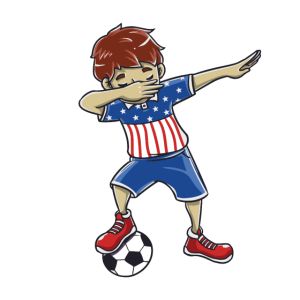 Dabbing dab Fußball Dab Geschenk Geburtstag USA