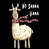 Mach No Drama du süßes Lama - Lamas - Alpaka