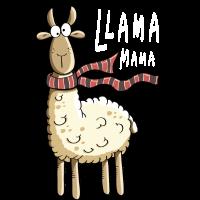 Mama Lama - Lamas - Alpaka - Kind - Kinder - Comic