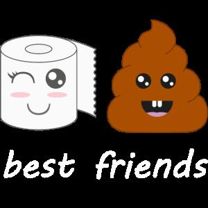 Klopapier und Poop