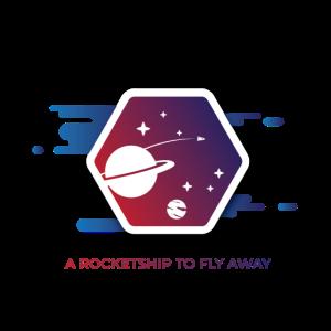 ein Raketenschiff zum Fliegen