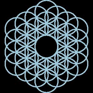 Blume des Lebens Ornament