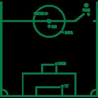 Fussballfeld Fußball Männersport Lustig Männer