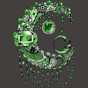 Lune dentelle Verte