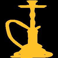 Gelbe Wasserpfeife