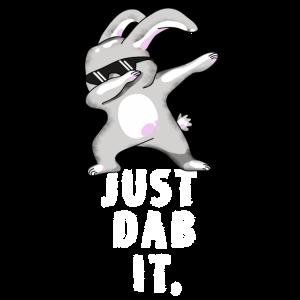 dab just dab it rabbit dabbing touchdown ostern fu
