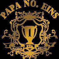 Vatertag Shirt: papa no eins