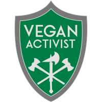 VEGAN ACTIVIST SHIELD