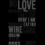 Wine, Cake, Snails - II