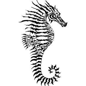 Alien Seahorse Invasion