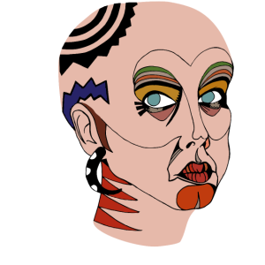 Stammesfrau