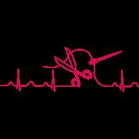 Nähen_heartbeat_magenta