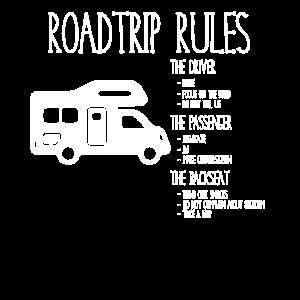 Road Trip Rules - Regeln für den Urlaub