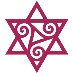 TRISKELE: Yin Kraft Symbol, Vektor, Merkaba, kelt