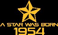 Jahrgang 1950 Geburtstagsshirt: stern geburtstag geboren 1954