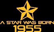 Jahrgang 1950 Geburtstagsshirt: stern geburtstag geboren 1955