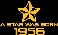 Jahrgang 1950 Geburtstagsshirt: stern geburtstag geboren 1956