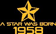 Jahrgang 1950 Geburtstagsshirt: stern geburtstag geboren 1958