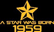 Jahrgang 1950 Geburtstagsshirt: stern geburtstag geboren 1959