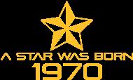 Jahrgang 1970 Geburtstagsshirt: stern geburtstag geboren 1970