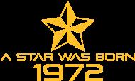 Jahrgang 1970 Geburtstagsshirt: stern geburtstag geboren 1972
