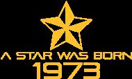 Jahrgang 1970 Geburtstagsshirt: stern geburtstag geboren 1973
